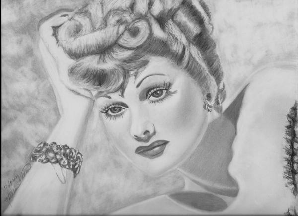 Lucille Ball by kwalden
